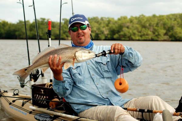 Redfish paddle for Chokoloskee fishing report