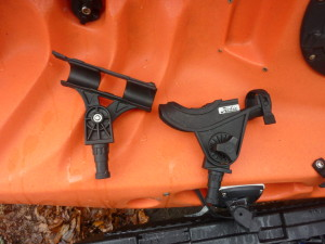 Scotty Fly & Baitcaster Rod Holder Kayak Rigging