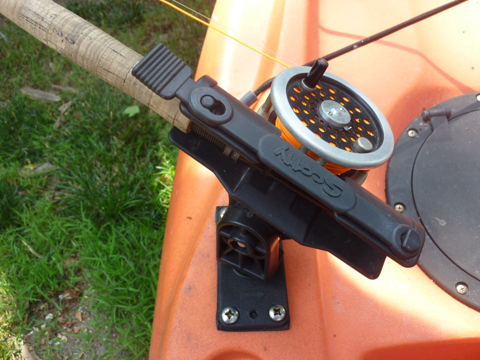 Paddle keep your paddle in the water for Scotty fishing rod holder
